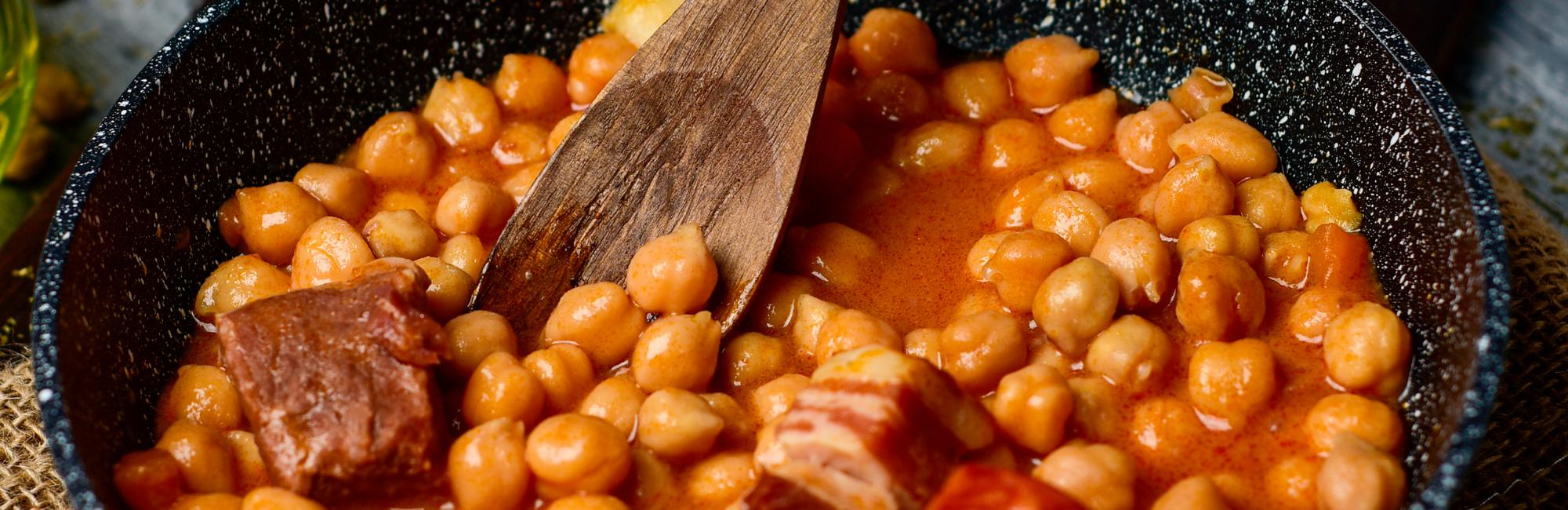 typical spanish stew 'Cocido'