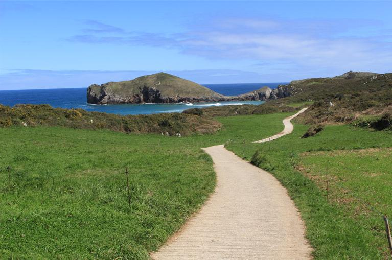 Coastal path in Asturias