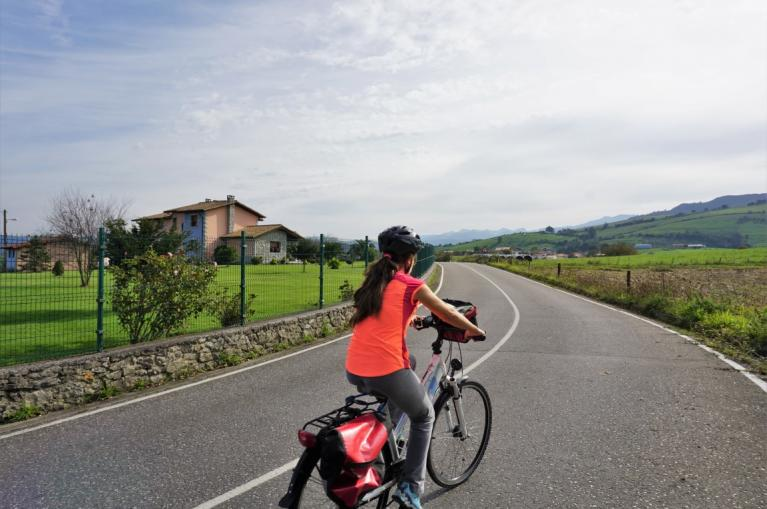 Cycling in Ribadedeva municipality