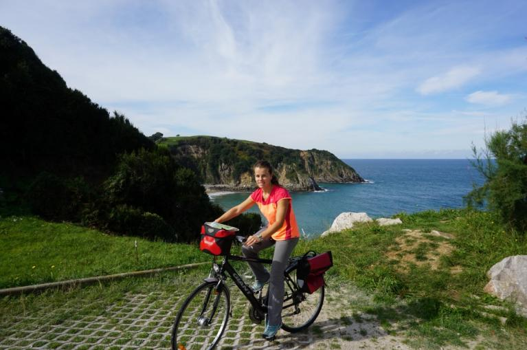 Cycling the green coast of Asturias