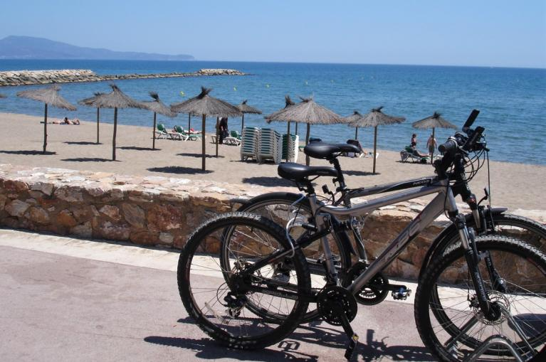 Cycling on the Costa Brava