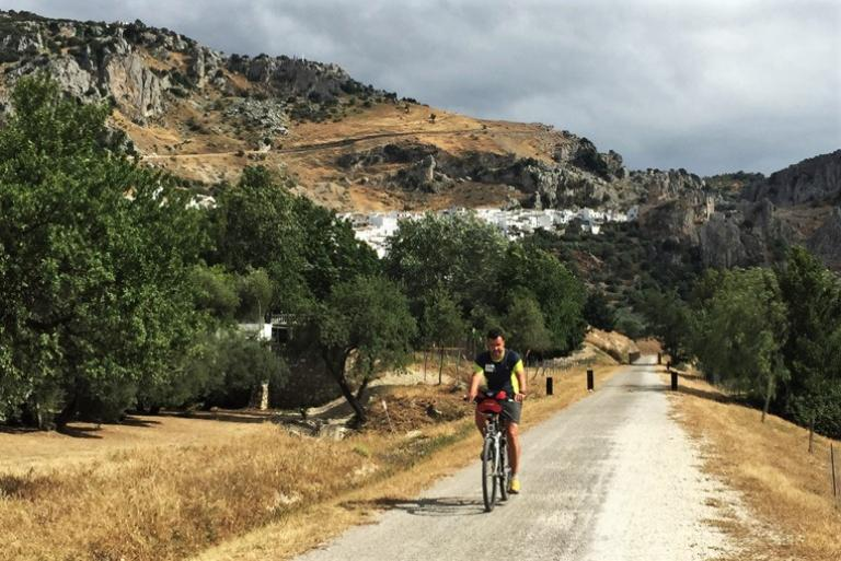 Cyclist andalucia