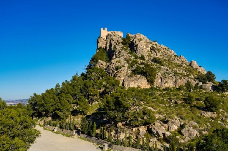 The medieval castle of Cieza