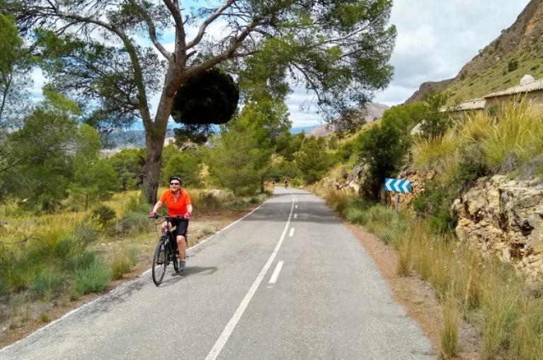 Cycling in Murcia